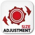SIZE ADJUSTMENT