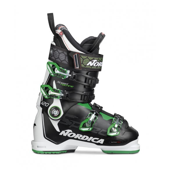 Buty narciarskie NORDICA SPEEDMACHINE 120 black/white/green 2020