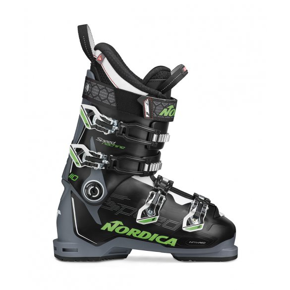 Buty narciarskie NORDICA SPEEDMACHINE 110 black/grey/green 2020