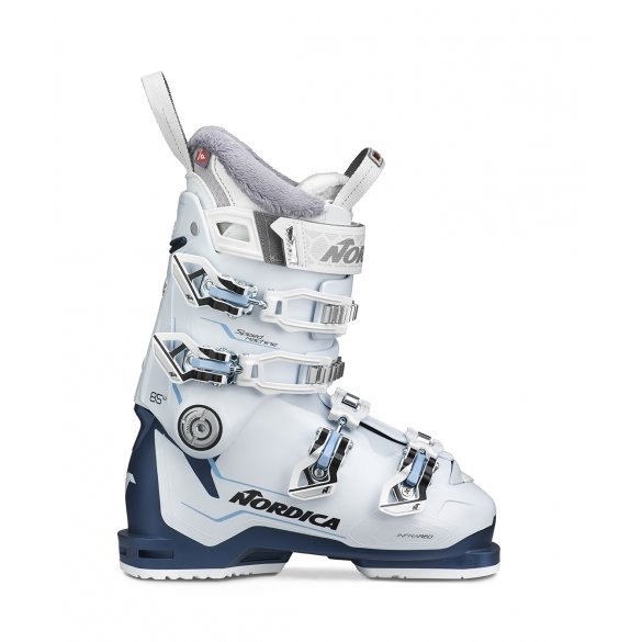 Buty narciarskie NORDICA SPEEDMACHINE 85W white/blue/light blue 2020