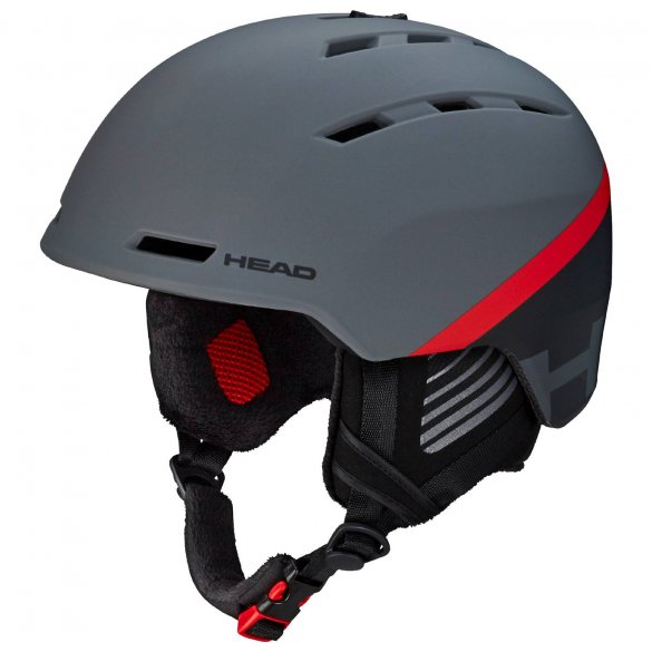 Kask HEAD VARIUS anthracite/red