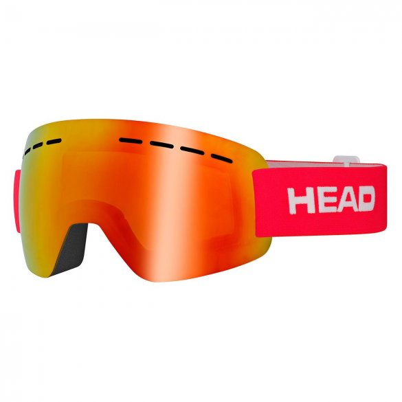 Gogle HEAD SOLAR FMR red 2020